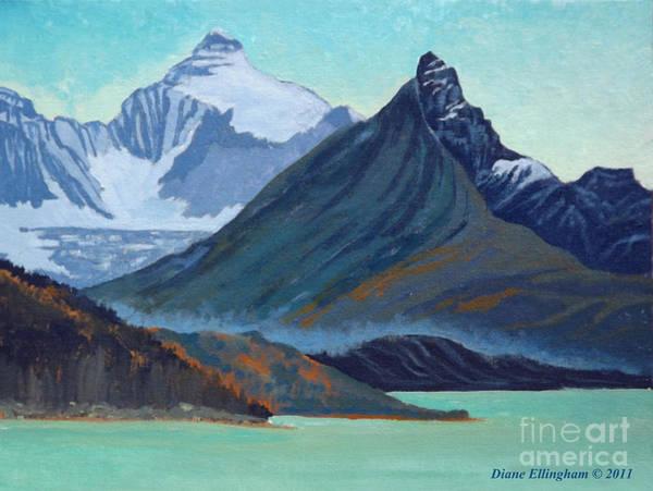 Glacial Retreat Canadian Rockies Poster