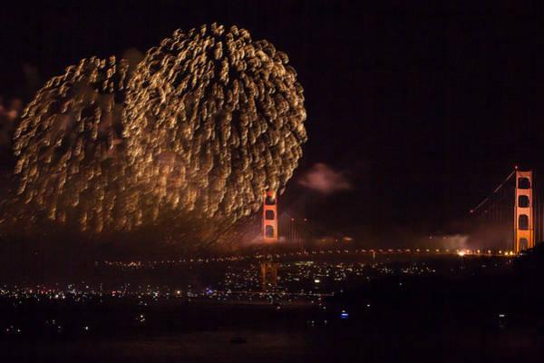 Golden Gate 75th Fireworks 35 Poster