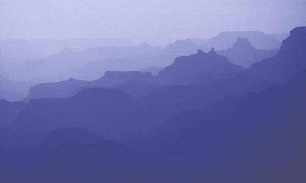 Grand Canyon Silhouettes Poster