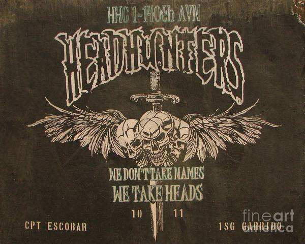 Headhunters - We Don't Take Names We Take Heads Poster