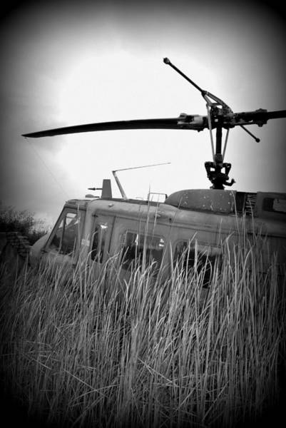 Helicopter Of War Poster