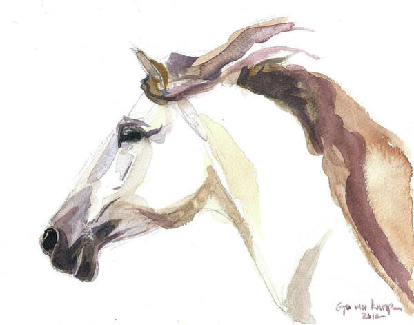 Horse - Julia Poster