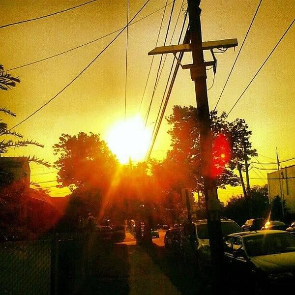 I Love Nature. #sun #sunset Poster