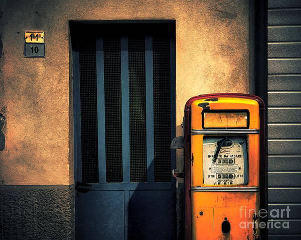 Italian Gasoline Poster