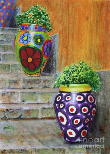 Italian Vases Poster