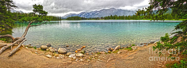 Jasper National Park - Maligne Lake Poster