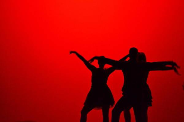 Jazz Dance Silhouette Poster