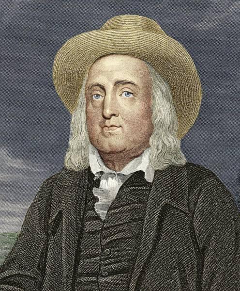 Jeremy Bentham, British Philosopher Poster