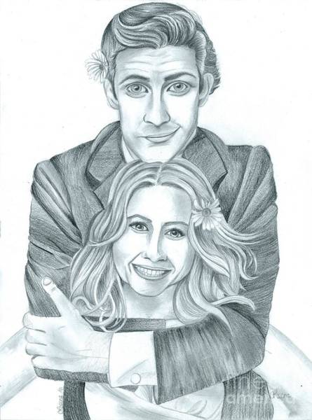 Jim And Pam Poster