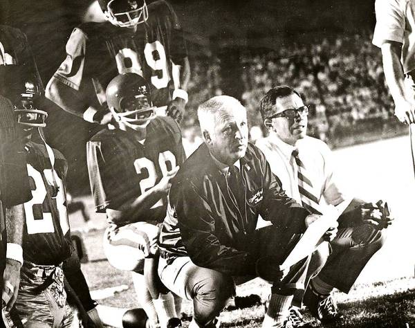 John Mckay On The Sidelines Poster