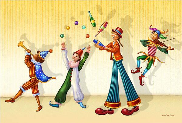 Juggling Company Poster