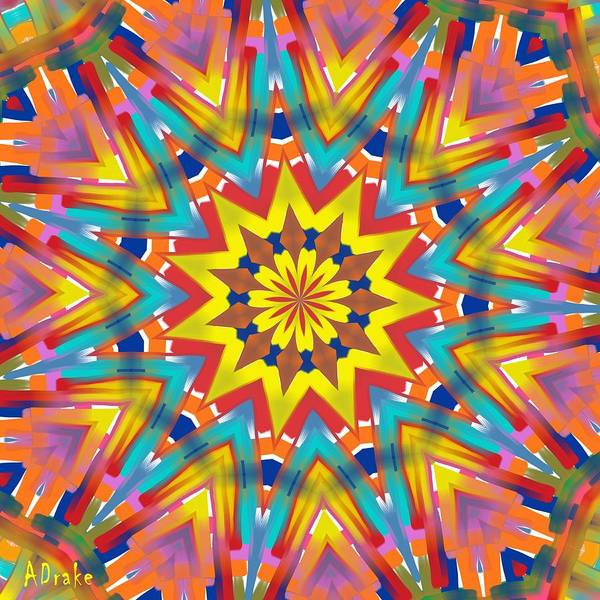 Kaleidoscope Series Number 7 Poster