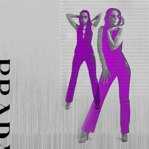 Kristina In Purple Poster