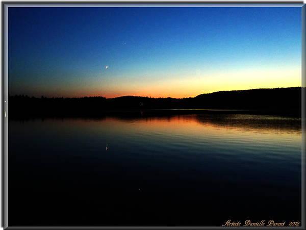 Lac Caribou Quebec Poster