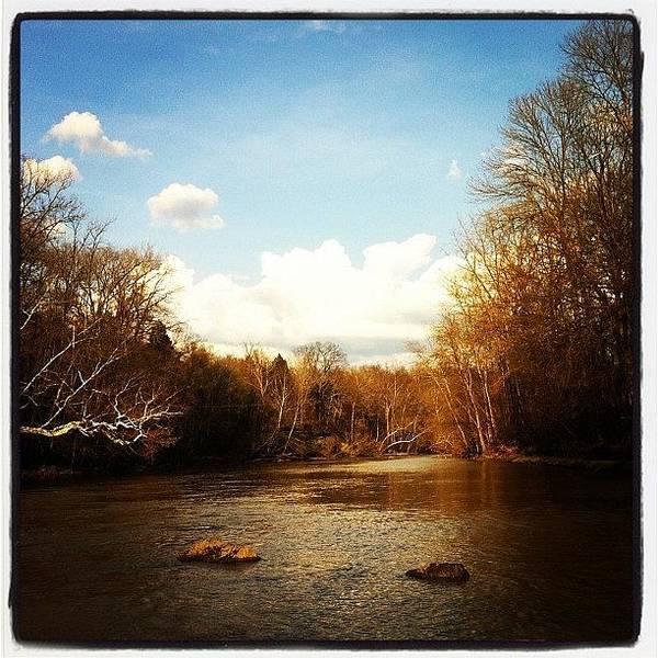 #lake #creek #nature #ohio Poster
