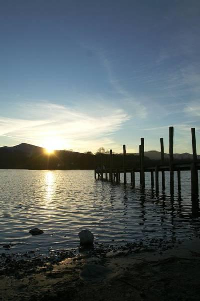 Lake District Sunset Poster