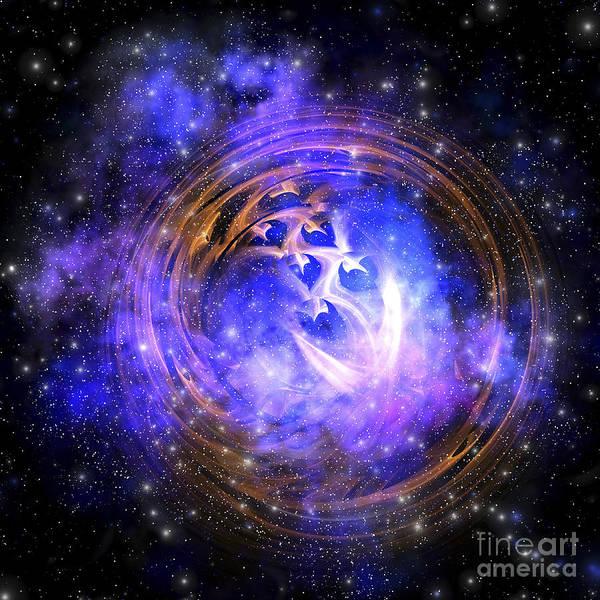 Leftover Remnants From A Supernova Poster