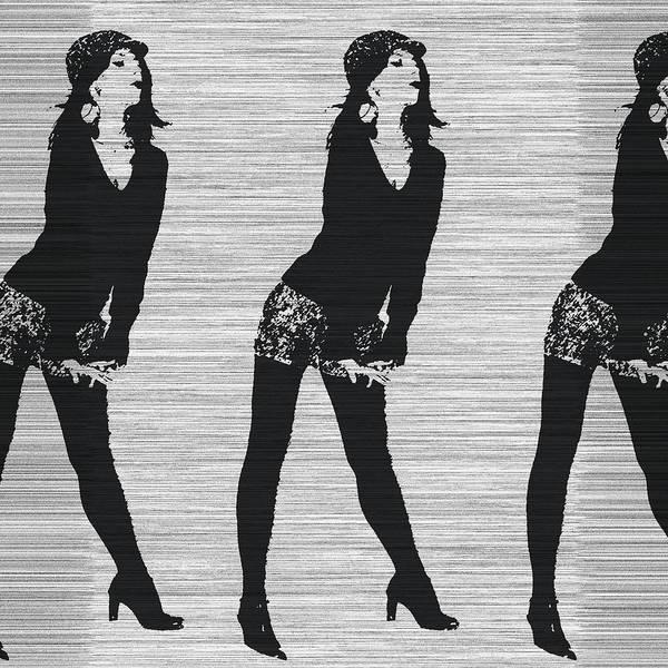Lena In Dark Poster