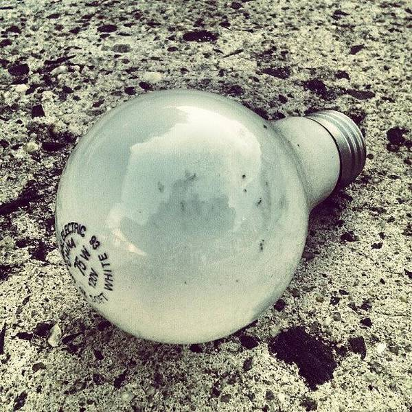 #lightbulb #light #picture #love Poster