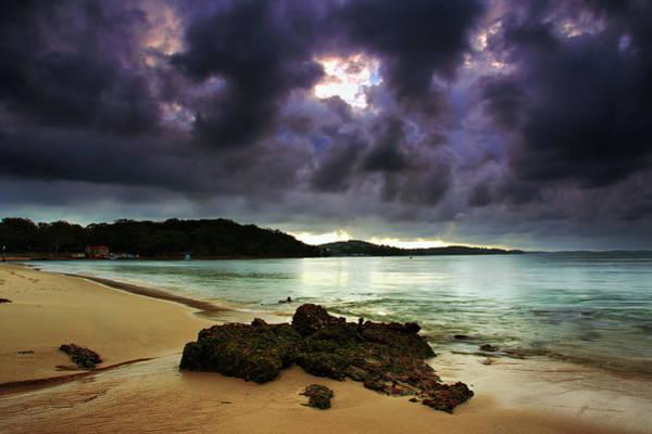 Little Beach Sunset Poster