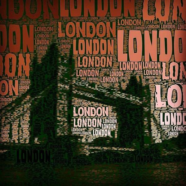 #london Just London Poster