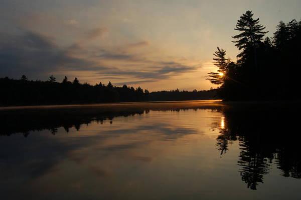 Long Pond Sunset Poster