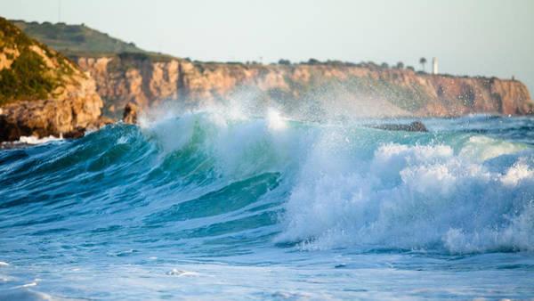 Lunada Bay Ocean Spray Poster