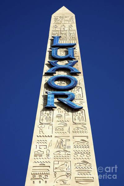 Luxor Las Vegas Obelisk Poster