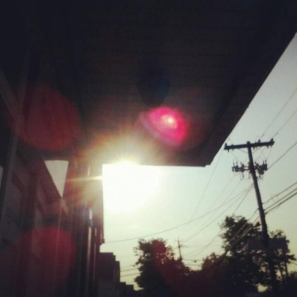 Magical. #sun #sunset #magical Poster
