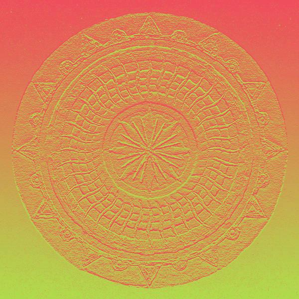 Mandala Meditation 2 V2 Poster