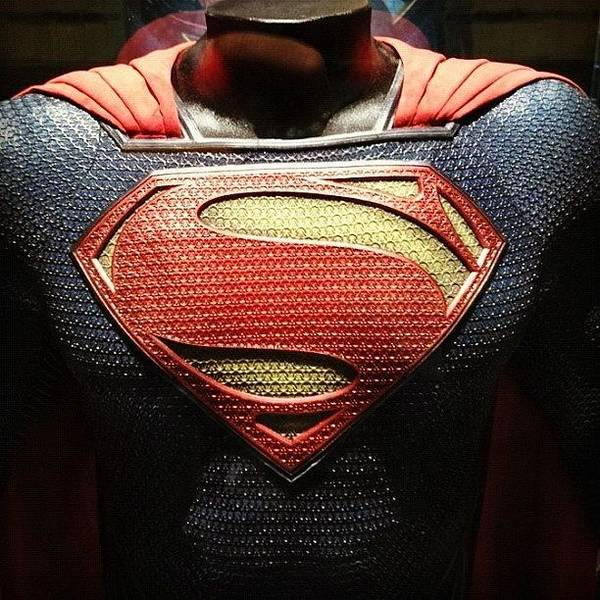 #manofsteel #superman #costume Poster