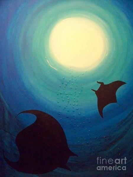 Manta Rays Poster