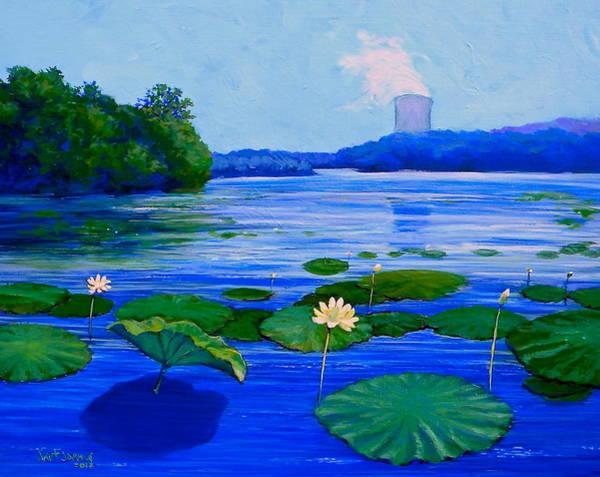 Modern Mississippi Landscape Poster