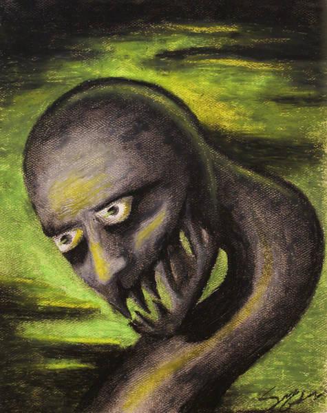 Monster- Green Poster
