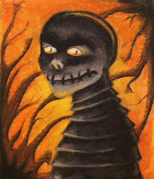 Monster- Orange Poster