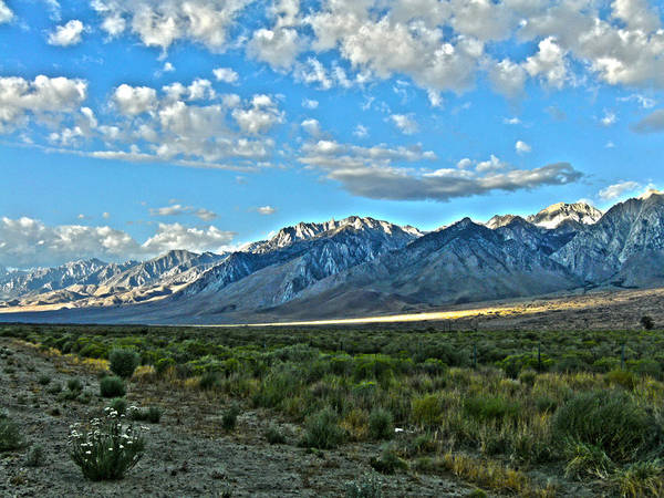 Morning In The Eastern Sierras Poster