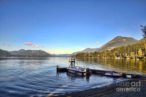 Mornings In British Columbia Poster
