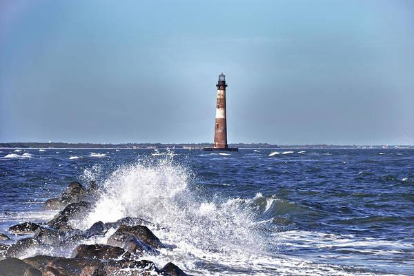 Morris  Island Lighthouse Poster