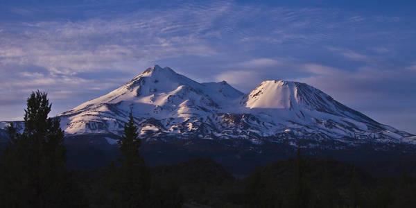 Mt Shasta Poster