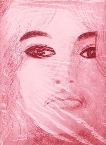 My Sketch Of Brigitte Bardot Poster