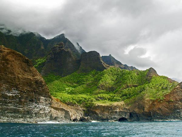 Na Pali Coast Hawaii 04 Poster