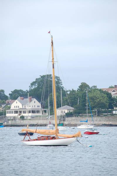 Newport Ri Wooden Sailboat Poster