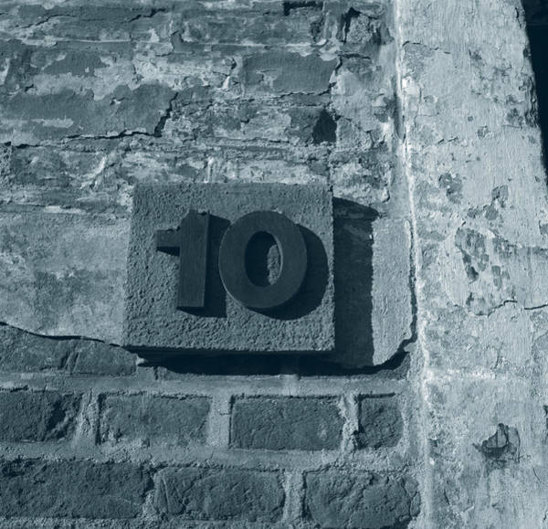 No. 10 Barracks At Terezin - Duotone Poster