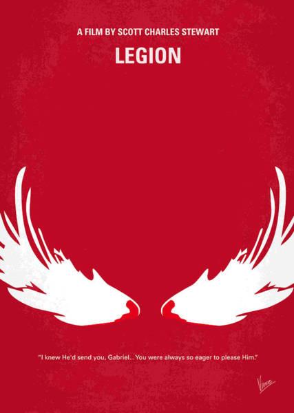 No050 My Legion Minimal Movie Poster Poster