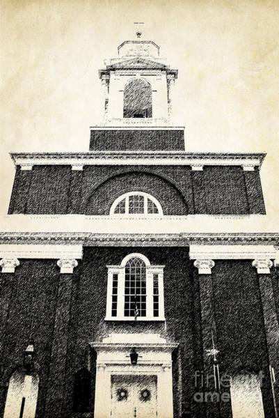 Old Church In Boston Poster