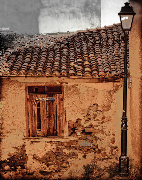 Thessaloniki, Greece - Old House Poster