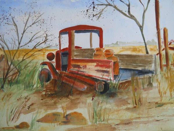 Old Trucks Never Die Poster