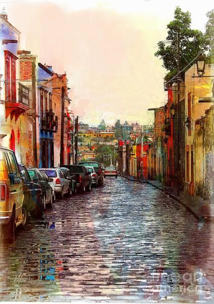 Organos Watercolor Poster