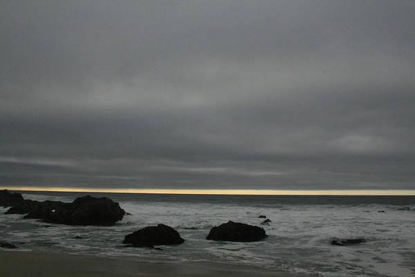 Pacific Ocean At Bodega California Poster