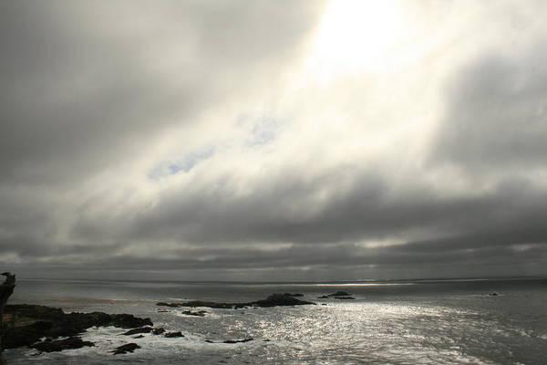 Pacific Ocean At Point Lobos California Poster
